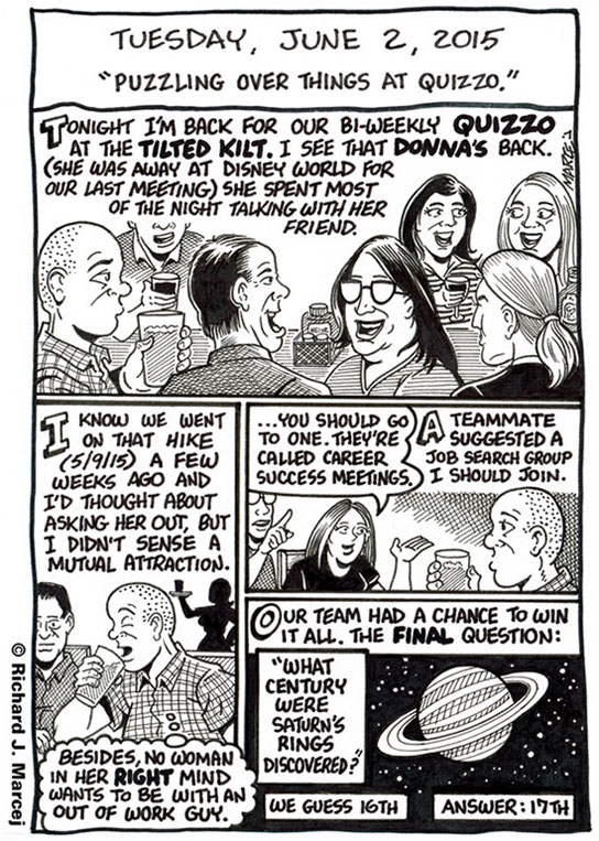 """Daily Comic Journal: June 2, 2015: """"Puzzling Over Things At"""