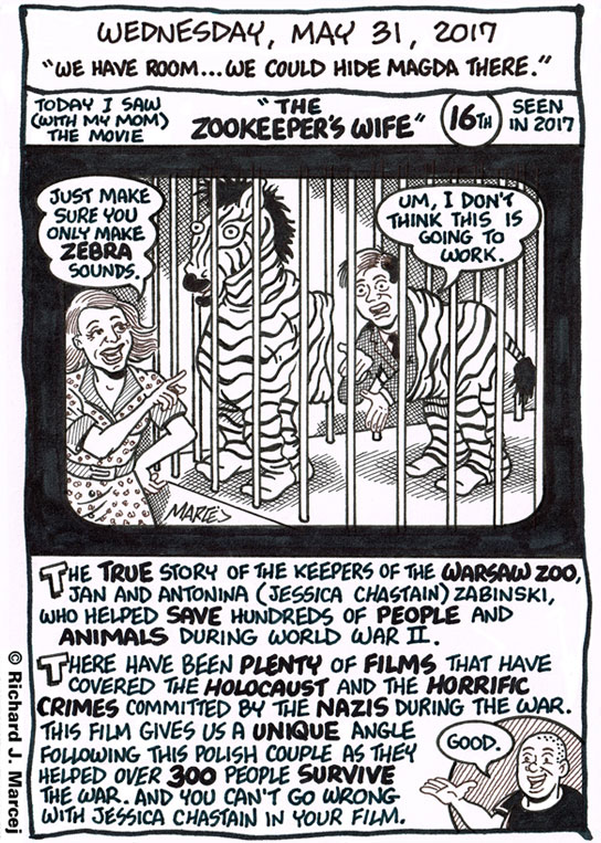 "Daily Comic Journal: May 31, 2017: ""We Have Room…We Could Hide Magda There."""