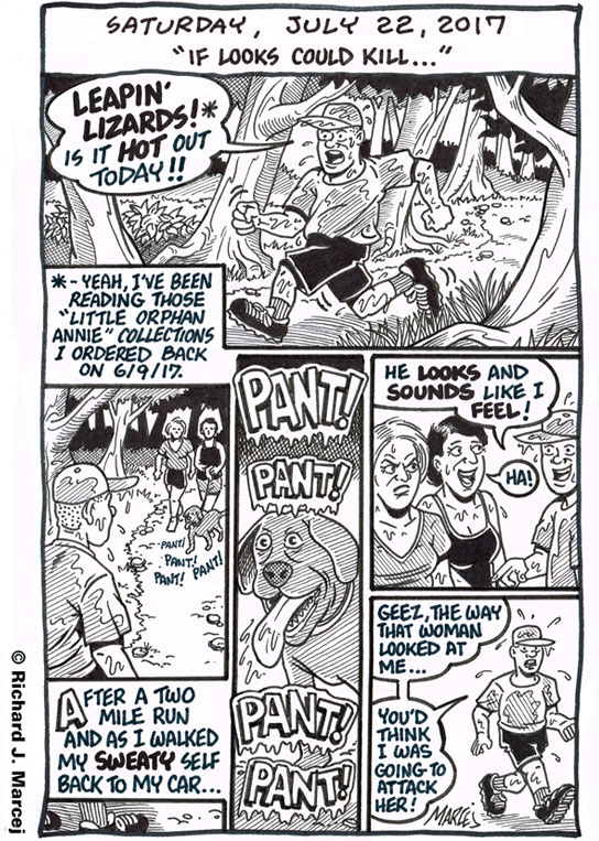 "Daily Comic Journal: July 22, 2017: ""If Looks Could Kill…"""