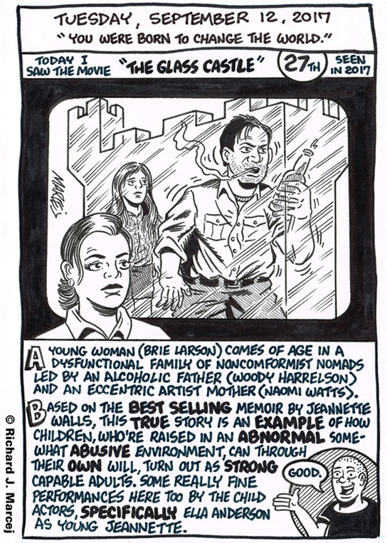 """Daily Comic Journal: September 12, 2017: """"You Were Born To Change The World."""""""